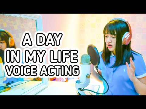 A Day in My Life - Voice Acting & Online Class 🎤 👩🏻