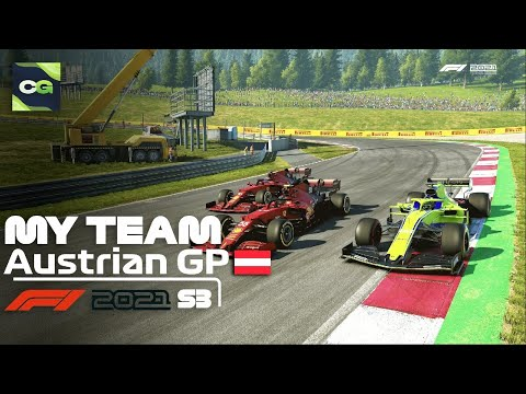 INTENSE FIGHT FOR THE WIN!! F1 2021 MY TEAM CAREER MODE S3 Ep8