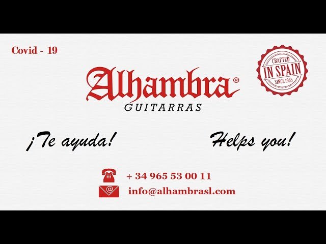 How to disinfect an Alhambra Guitar