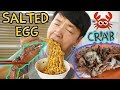 Download Youtube: SALTED EGG CRAB! Street Food Tour of Old Airport Road Hawker Center