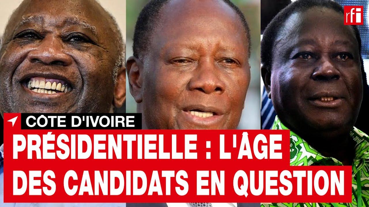Côte d'Ivoire : le retour du débat sur la limite d'âge des candidats à la présidentielle • RFI