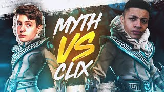 Clix Challenged Me to 1v1 For $100! (INSANE 14 Year Old Fortnite Pro)