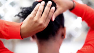 Natural Hair| The Bun Tutorial