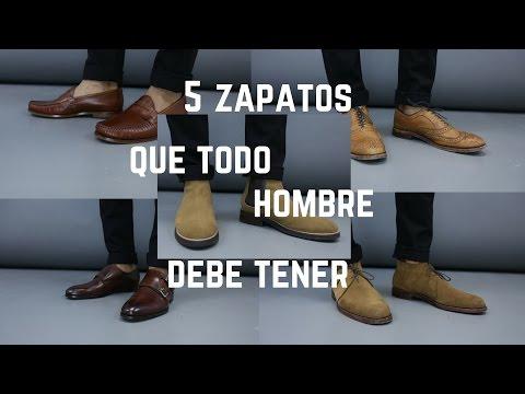 5 Zapatos Que Todo Hombre Debe de Tener