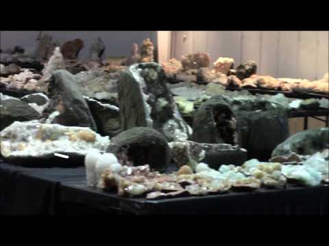 Superb Minerals India 2017 Tucson Mineral Show