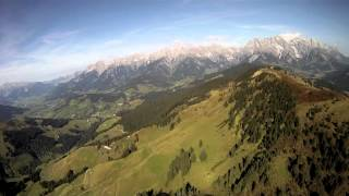 preview picture of video 'Hike & Fly Klingspitz mit gliders-checkpoint Little Cloud Spiruline'