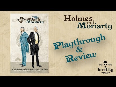 Holmes and Moriarty Playthrough and Review