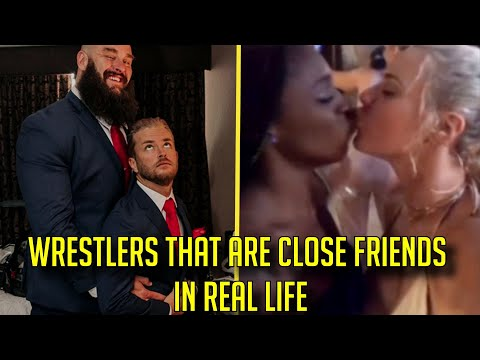 15 Wrestlers You Probably DIDN'T KNOW Are Close Friends In The WWE! | Wrestling Hub