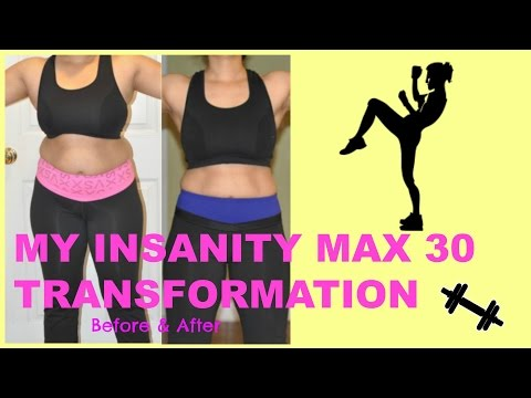 Insanity Max30 Before and After Results - смотреть онлайн на