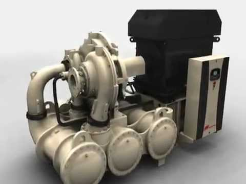 Ingersoll Rand Centrifugal Air Compressor CENTAC C1000 Simplicity By Design
