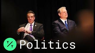 Cuomo, Alongside Gore, Signs Most Aggressive Climate Plan in U.S.