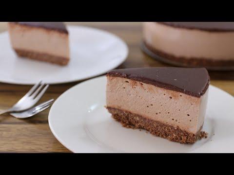 No-Bake Mocha Cheesecake Recipe | Chocolate Coffee Cheesecake