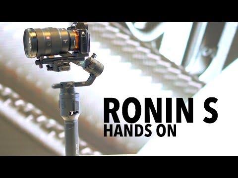 Dji Kit standard Ronin S (Appareil photo reflex, Appareil photo à objectif interchangeable, 3.60kg)