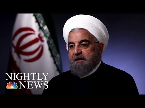 Rouhani: 'No One Will Trust America Again' If Trump Ends Nuclear Deal (Full)   NBC Nightly News