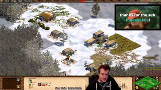 Age Of Empires 2 HD: 3 V 3 Black Forest (Persians)