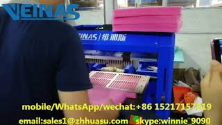 EPE foam waste removing machine from Veinas
