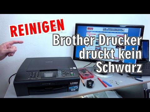 Brother mfc 6490cw printer head cleaning