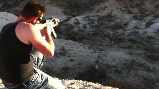 Izhmash Saiga AK47 Accuracy Test
