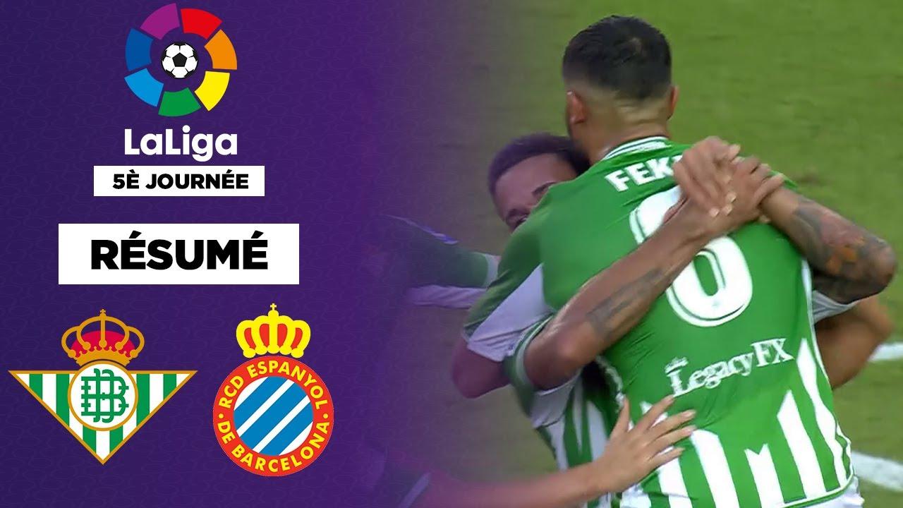 Résumé : Malgré Fekir, le Real Betis accroché par l'Espanyol dans un match fou