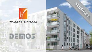 preview picture of video 'Wohnen in Milbertshofen - Präsentationsfilm unserer Immobilie Wallensteinplatz - DEMOS Wohnbau'