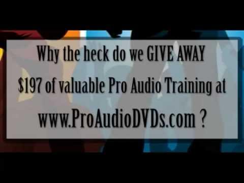 Free Pro Audio Academy Training Course - YouTube