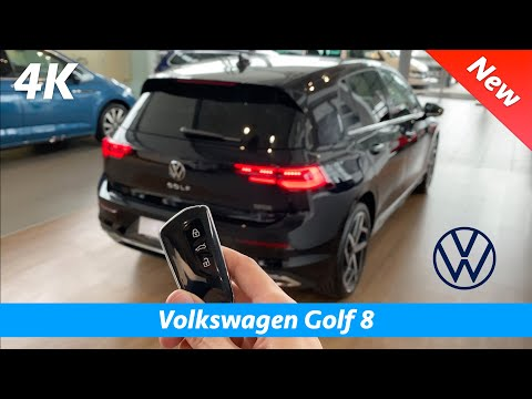 Volkswagen Golf 8 Style 2020 - FIRST In-depth review in 4K | Interior - Exterior