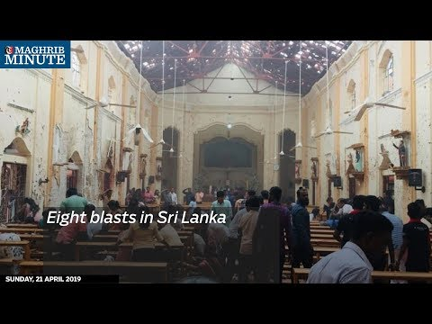 Eight blasts in Sri Lanka
