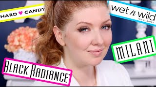 Trying New Drugstore Makeup! | Milani, Black Radiance, Hard Candy