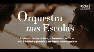 Prefeitura se une à iniciativa privada para impulsionar projeto Orquestra nas Escolas
