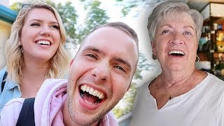 Surprise Made Our Grandma Cry!