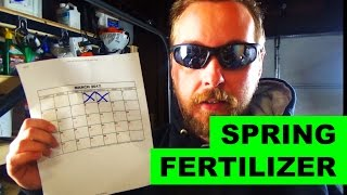 When is the best time to fertilize your lawn in the spring
