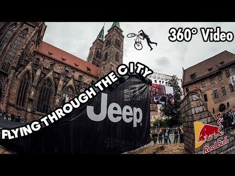 Crazy 360° Urban MTB Freeride at Red Bull District Ride