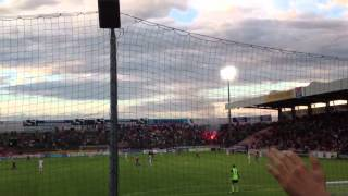 preview picture of video 'Unterhaching - FC Bayern München PYRO'
