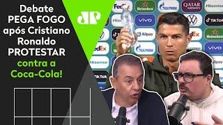 Atitude polêmica de Cristiano Ronaldo com a Coca-Cola faz debate ferver; assista