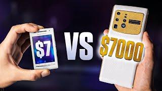 $7 vs $7,000 Smartphone