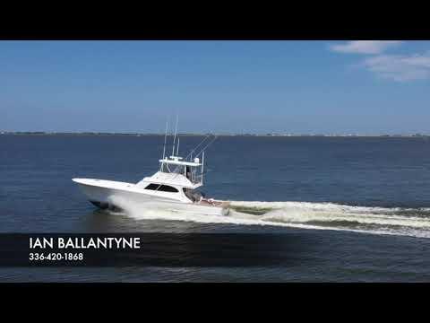 Custom Carolina 58 B&B Sportfish W/ Seakeeper video