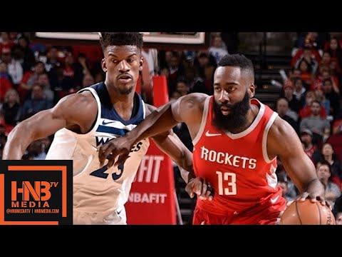 Houston Rockets vs Minnesota Timberwolves Full Game Highlights / Jan 18 / 2017-18 NBA Season