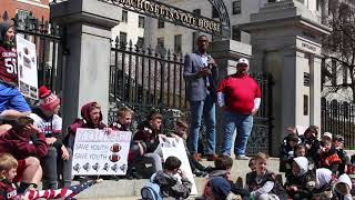 Save Youth Football Rally in Boston Massachusetts | Spearker Terrance Turner