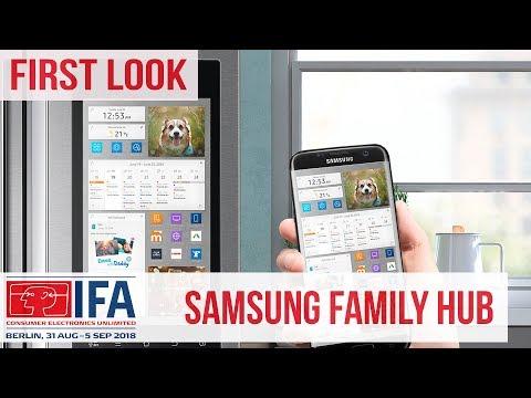 Samsung Family Hub erklärt - Der smarte Kühlschrank #IFA2018