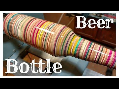 Creating a Beer Bottle From Old Broken Skateboards