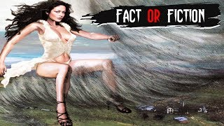Girl Rides A TORNADO And SURVIVES - FACT or FICTION?