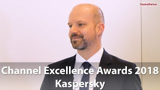 Channel Excellence Awards - Kaspersky gewinnt in Kategorie Security