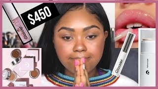 I SPENT $450 ON GLOSSIER AND... I MIGHT HAVE WASTED MY MONEY.... | KennieJD
