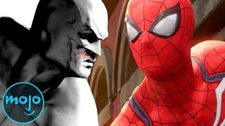 Spider-Man PS4 vs Batman: Arkham City