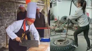 꿀잼 틱톡 영상모음 # 숨어있는 은둔의 고수들 레전드