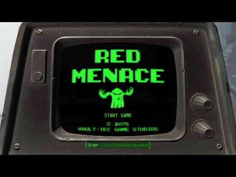 RED MENACE | Fallout 4 [Donkey Kong Mini Game Secret Easter Egg]