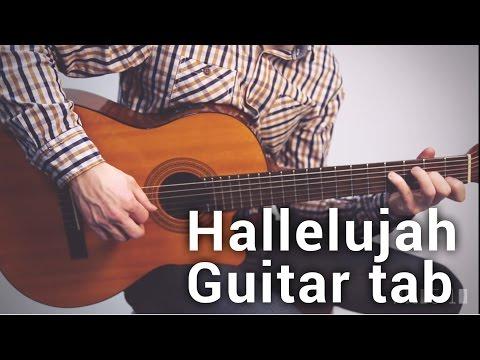 Hallelujah Guitar Tab (Rufus Wainwright)