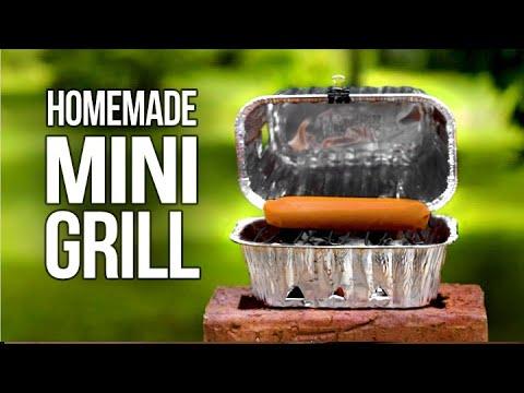 Easy Homemade Mini Grill