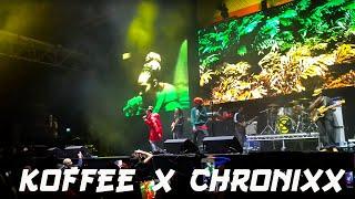 Koffee X Chronixx   Raggamuffin | Alexandra Palace 2018 | London
