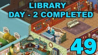 HOMESCAPES STORY WALKTHROUGH - LIBRARY - DAY 2 COMPLETED - GAMEPLAY - #49